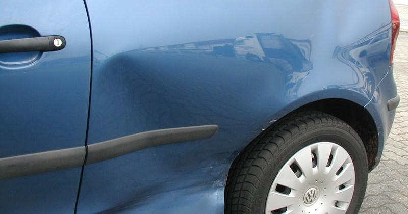 Seitenschaden VW