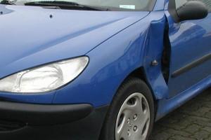 Seitenschaden Peugeot